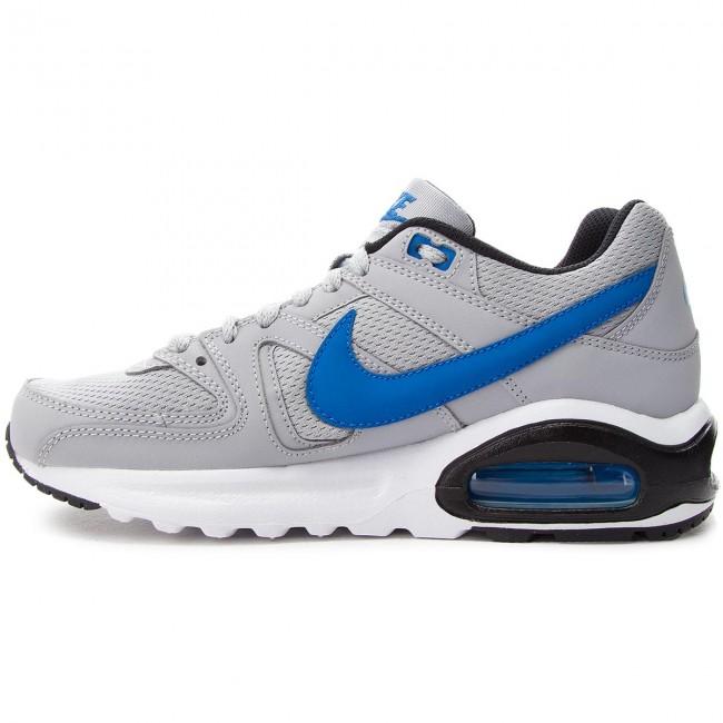 premium selection 61c5a 64713 Cipő NIKE - Air Max Command Flex (GS) 844346 007 Wolf Grey Signal  Blue Black - Sneakers - Félcipő - Női - www.ecipo.hu