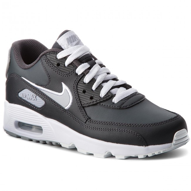 online store ef445 c9dde Cipő NIKE - Air Max 90 Ltr (GS) 833412 021 Anthracite Wolf Grey