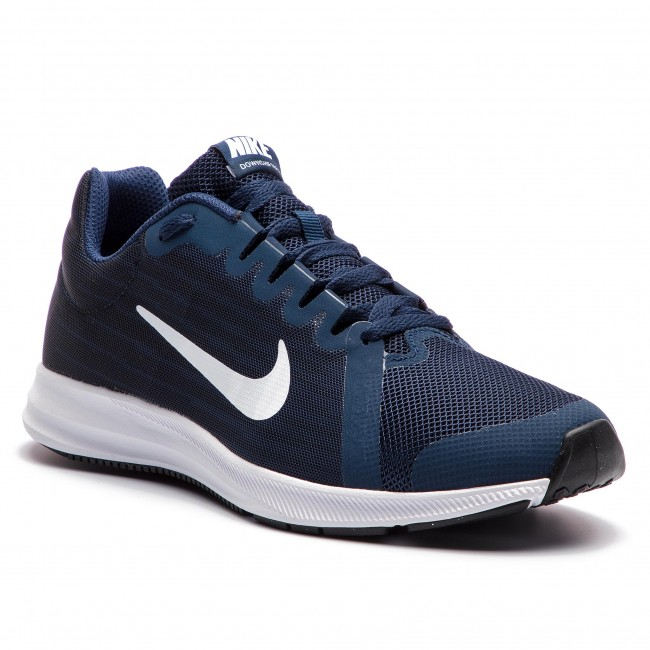 Cipő NIKE - Downshifter 8 (GS) 922853 400 Midnight Navy White ... e1b049a854