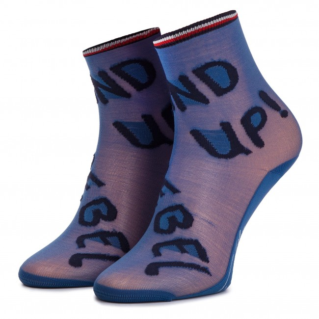 ca07297b1f Hosszú női zokni TOMMY HILFIGER - 393009001 Midnight Blue 563 ...