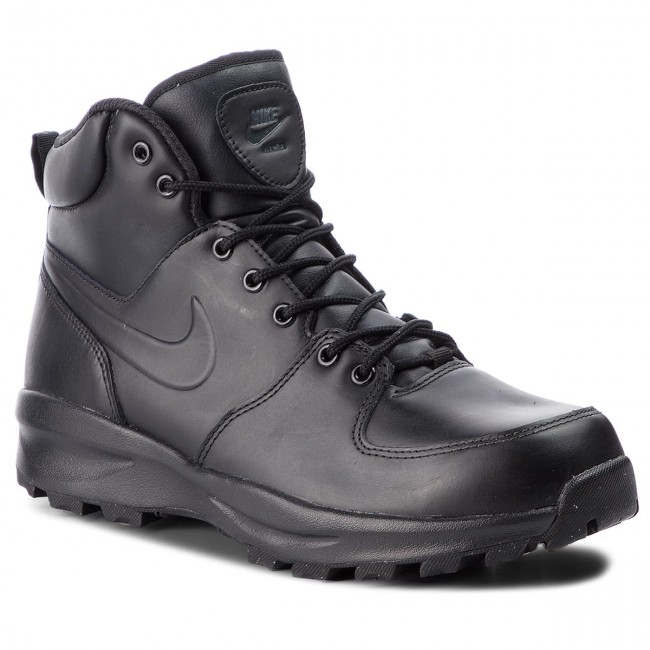 Cipő NIKE - Manoa Leather 454350 003 Black Black Black - Bakancsok ... 3889999679