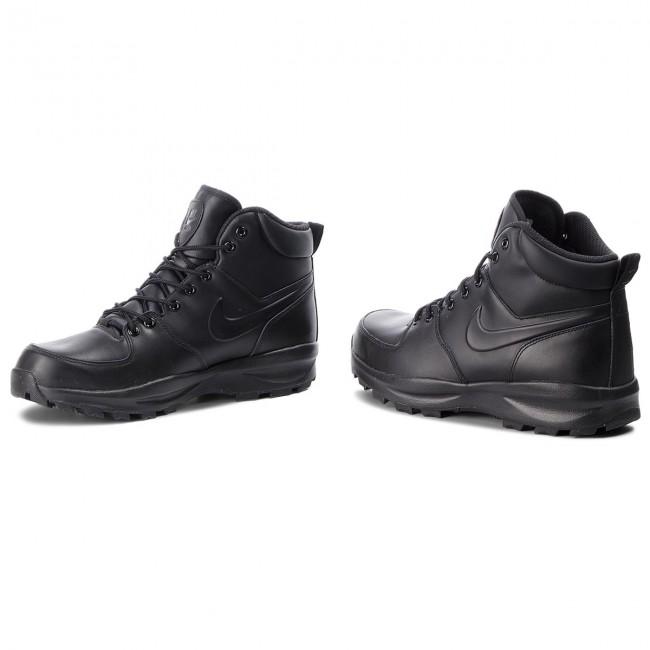 Cipő NIKE - Manoa Leather 454350 003 Black Black Black - Bakancsok ... 198c96f4b4