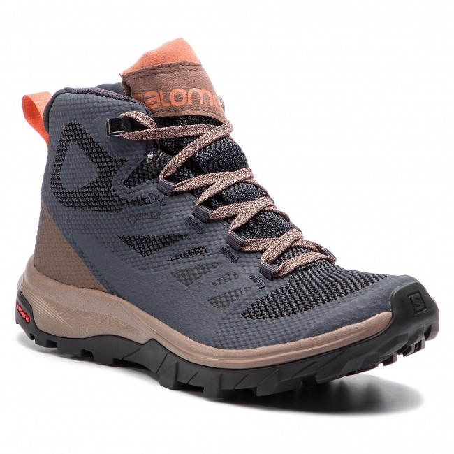 Bakancs SALOMON - OUTline Mid Gtx W GORE-TEX 406794 20 V0 Ebony Deep ... c3882a932a