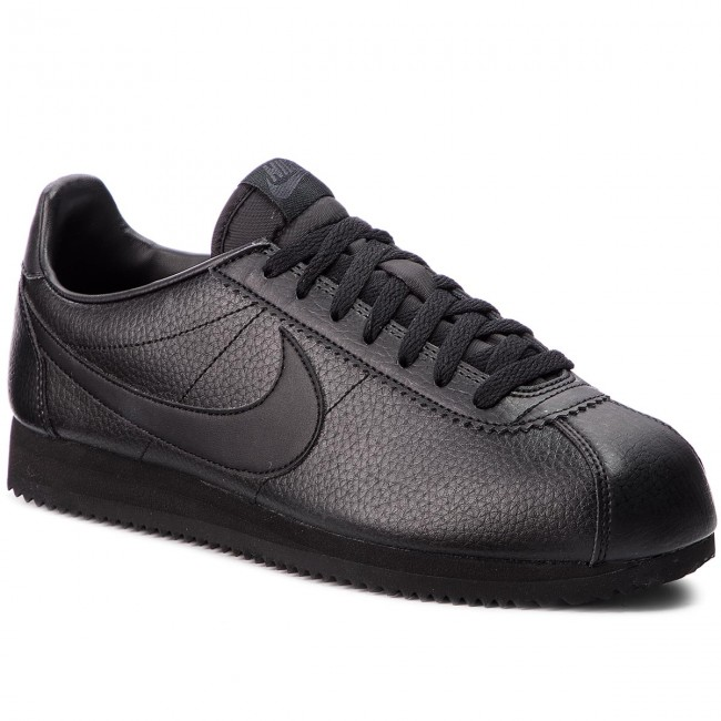 c096d8f113 Cipő NIKE - Classic Cortez Leather 749571 002 Black/Black/Anthracite ...