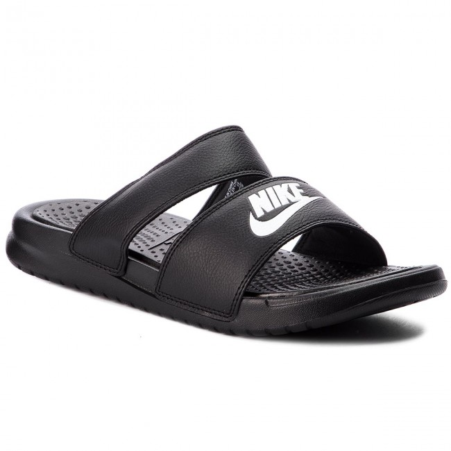Papucs NIKE - Benassi Duo Ultra Slide 819717 010 Black White ... 6a6d053107
