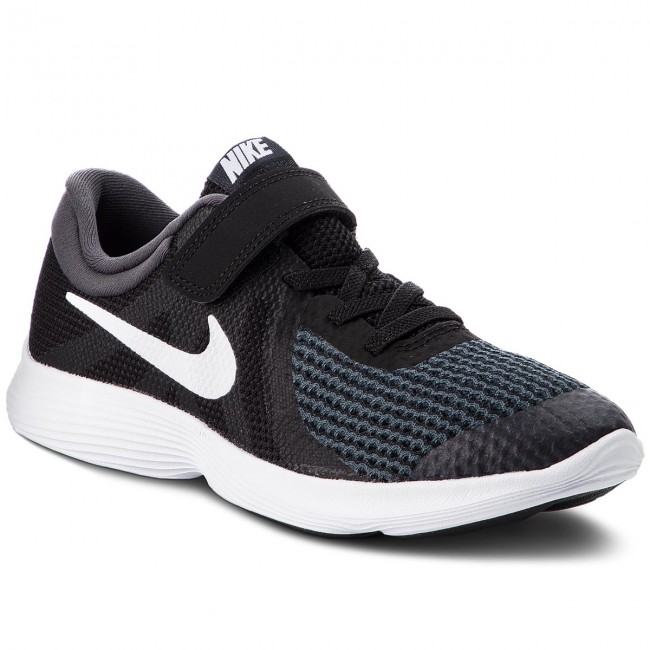 Cipő NIKE - Revolution 4 (PSV) 943305 006 Black White Anthracite ... ab43ebd992