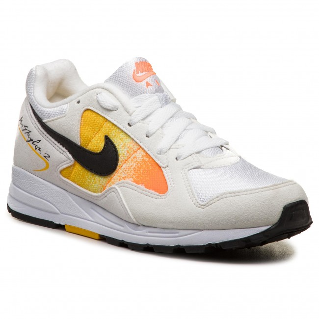 1b530597ae Cipő NIKE - Air Skylon II AO4540 101 White/Black/Amarillo - Sneakers ...