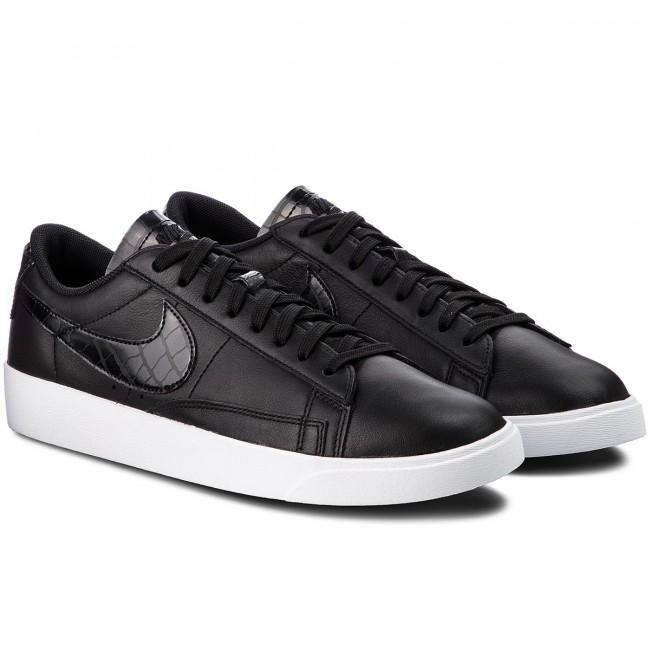 Cipő NIKE - Blazer Low BQ0033 001 Black/Black/Black - Sneakers - Félcipő - Férfi PcxNC