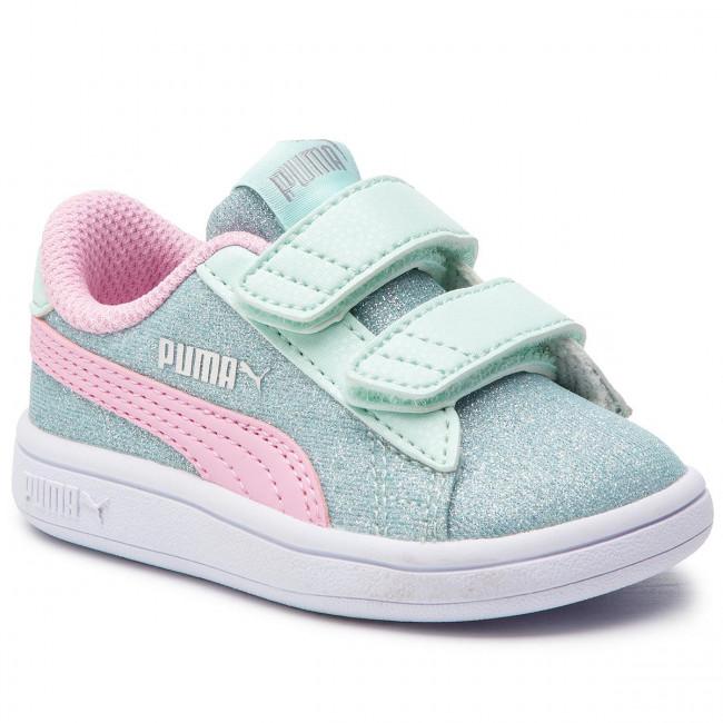 05c3fbf892e7 Sportcipő PUMA - Smash V2 Glitz Glam V Inf 367380 07 F Aqua/P Pink ...