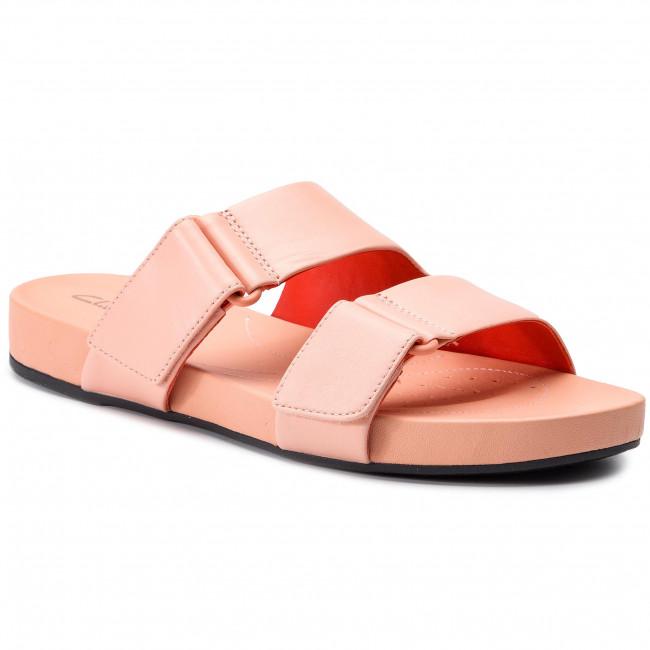 Papucs CLARKS - Bright Deja 261400934 Light Pink - Hétköznapi ... fefc90abd5