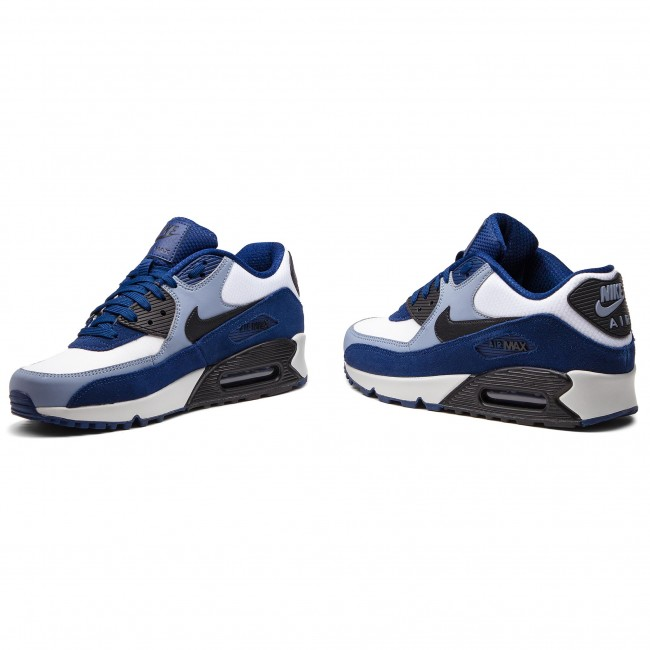 first rate caf70 3a622 Cipő NIKE - Air Max 90 Leather 302519 400 Blue Void Black Ashen Slate