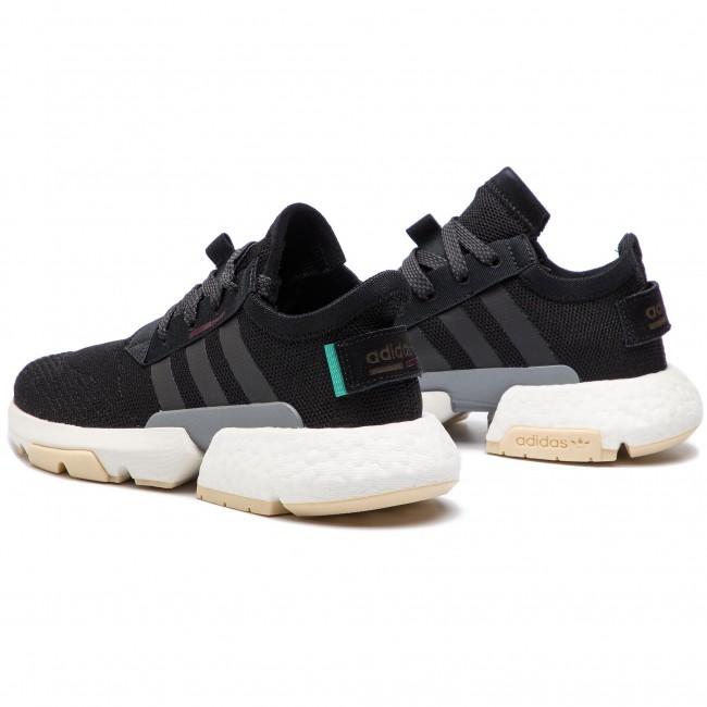 c4452a1f9c Cipő adidas - Pod-S3.1 W CG6183 Cblack/Cblack/Maroon - Sneakers ...