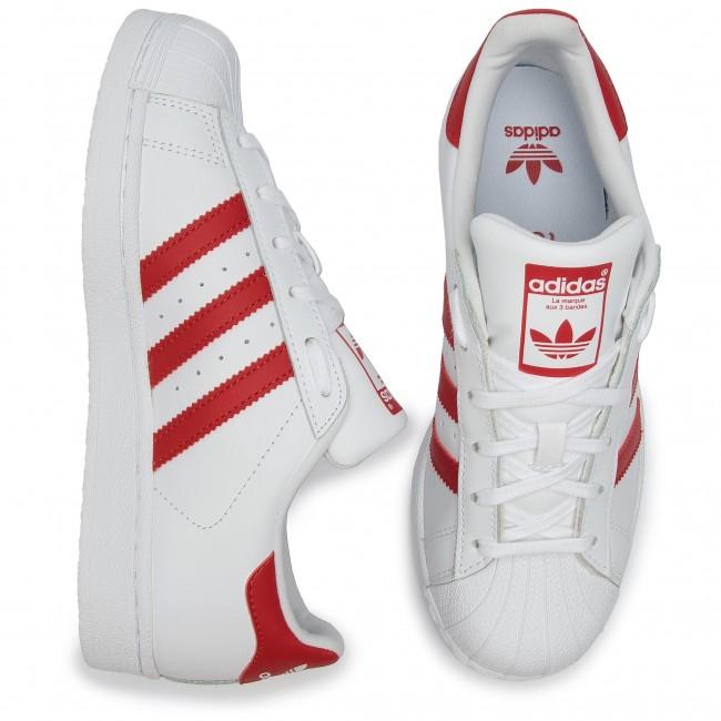 Cipő adidas Superstar J CG6609 FtwwhtScarleScarle