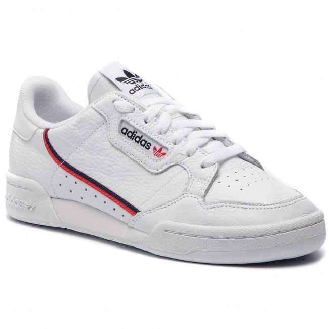 9b6447ae57 Cipő adidas - Continental 80 G27706 Ftwwht/Scarle/Conavy - Sneakers ...