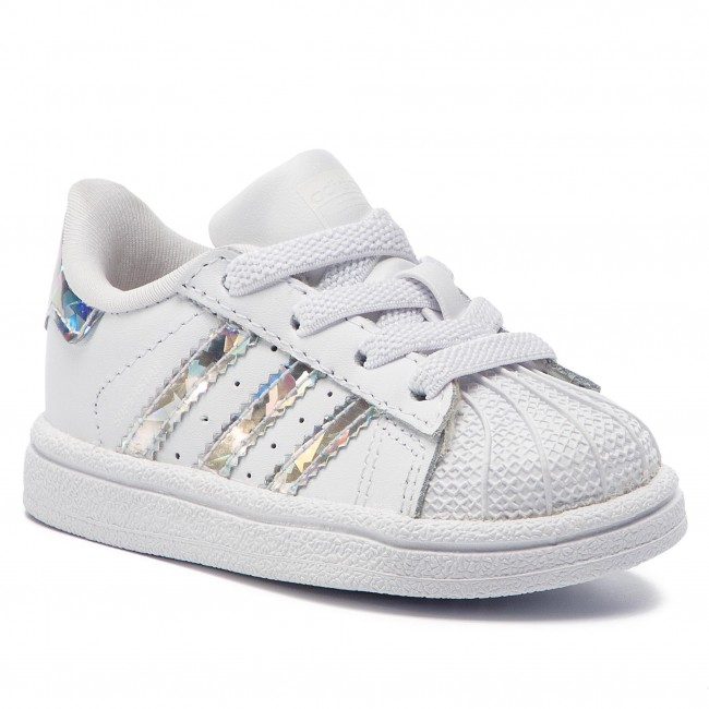b271937657 Cipő adidas - Superstar El I CG6707 Ftwwht/Ftwwht/Ftwwht - Fűzős ...