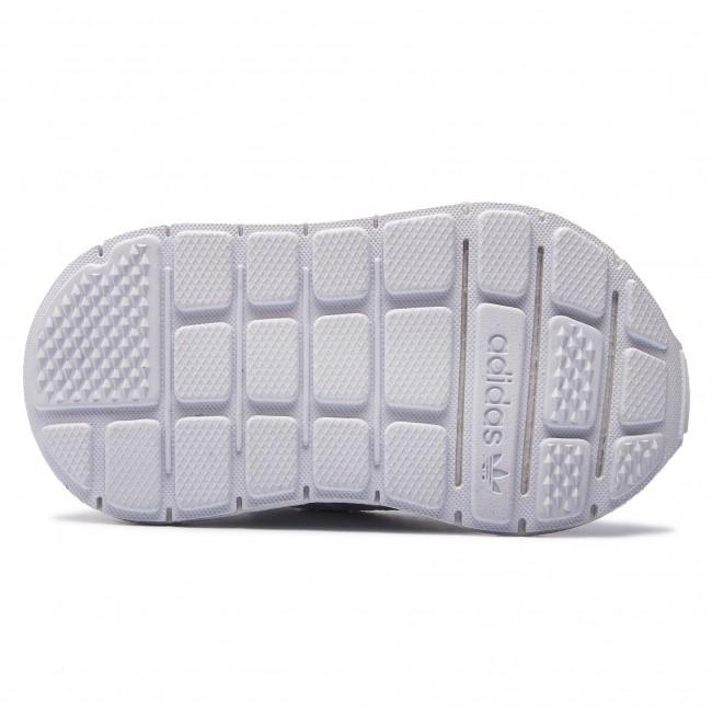 Cipő adidas - Swift Run I F34320 Ftwwht Ftwwht Ftwwht - Fűzős - Félcipő -  Kislány - Gyerek - www.ecipo.hu 7be7416c88