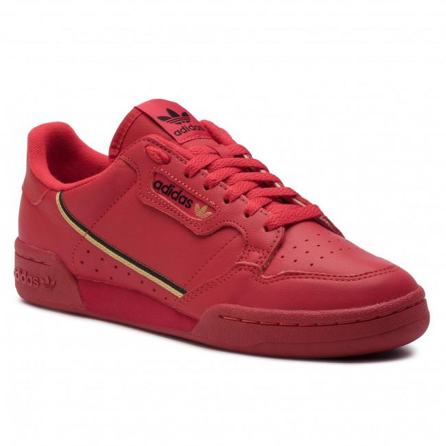 bed59846cd Cipő adidas - Continental 80 EE4144 Scarle/Goldmt/Cblack - Sneakers ...