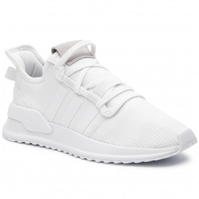 2a1cce772132 Cipő adidas - U Path Run G27637 Ftwwht/Ftwwht/Cblack - Sneakers ...