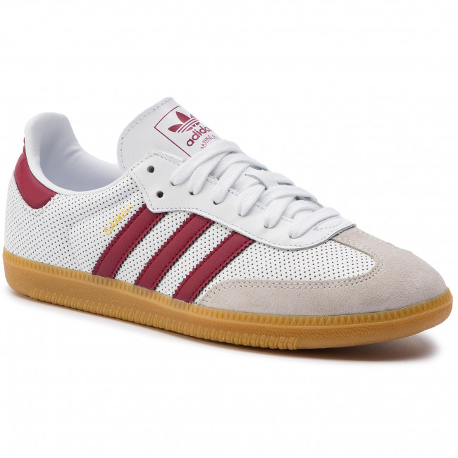 8e52320599 Cipő adidas - Samba Og BD7528 Ftwwht/Cburgu/Greone - Sneakers ...