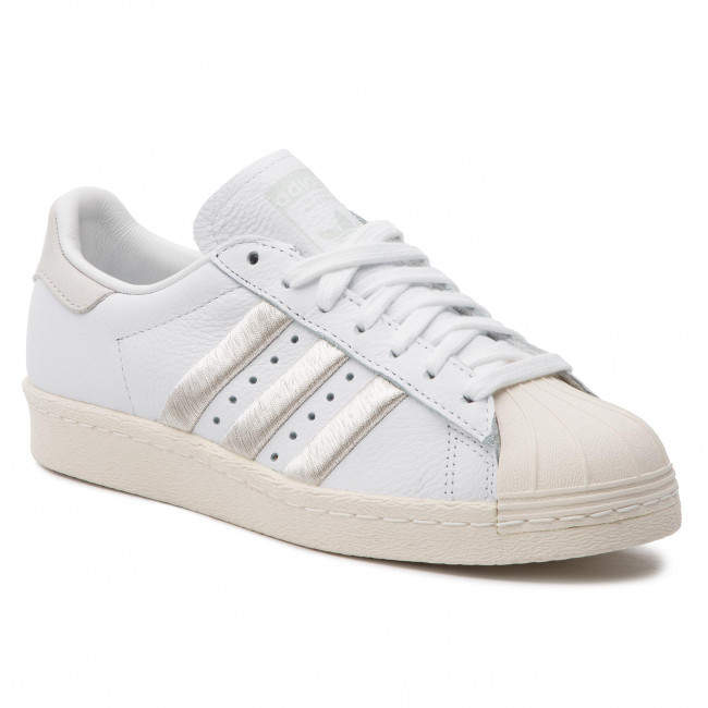 Cipő adidas - Superstar 80s W CG5997 Ftwwht Greone Owhite - Sneakers ... 855b2e7ee3