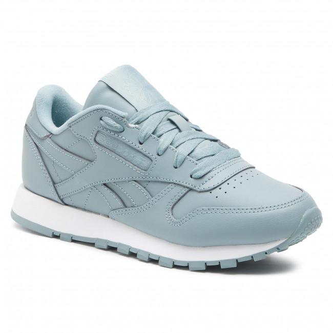 Cipő Reebok - Cl Lthr CN7606 Teal Fog White - Sneakers - Félcipő ... 1cf5af75fd