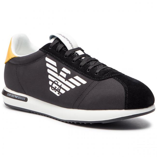 51d0c42fee Sportcipő EMPORIO ARMANI - X4X260 XL710 A083 Black/Black/Sun ...