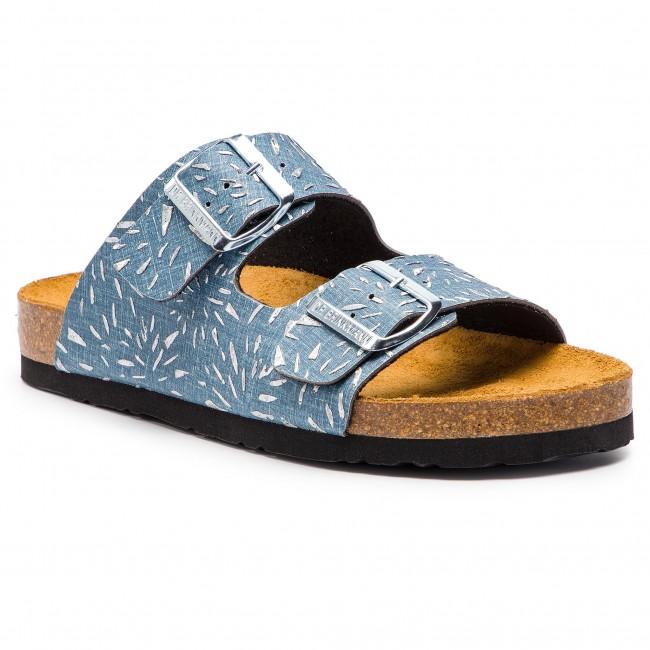 Papucs DR. BRINKMANN - 701286 Jeans 5 - Hétköznapi papucsok ... 7d2376786b