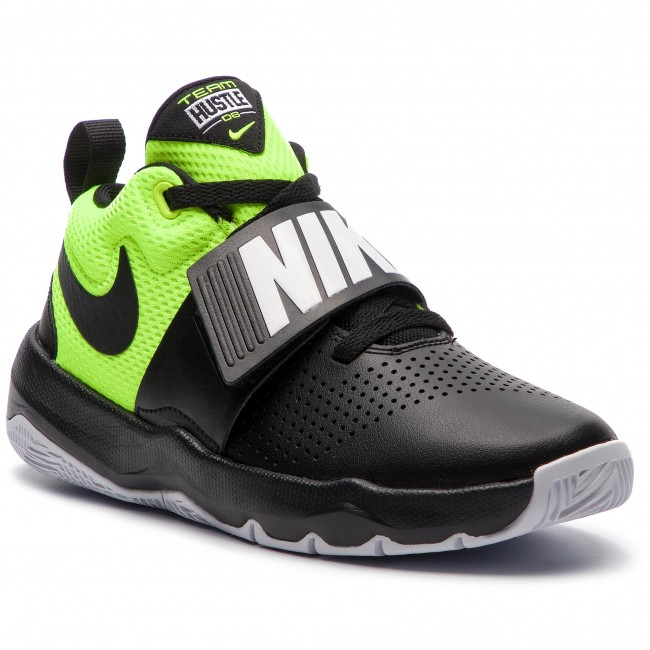 Cipő NIKE - Team Hustle D 8 (GS) 881941 014 Black Black Volt White ... ded75900d6