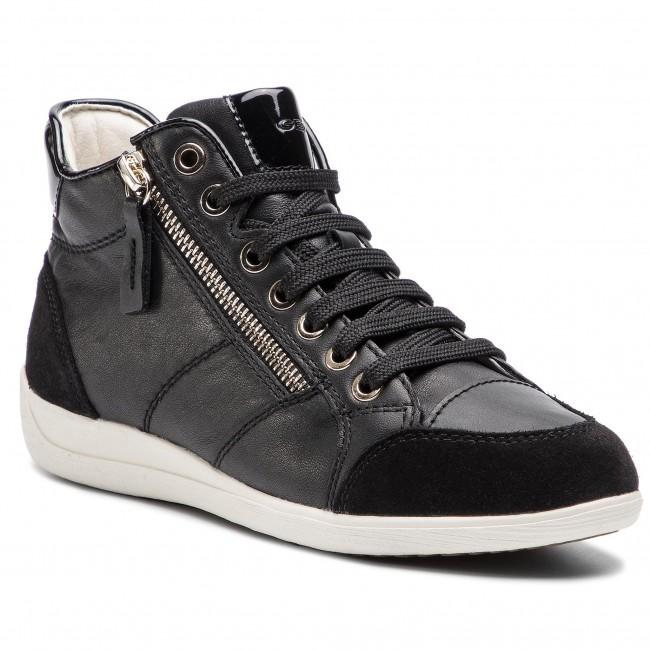 Sportcipő GEOX - D Myria C D6468C 08522 C9999 Black - Sneakers ... 6b3bc985e2