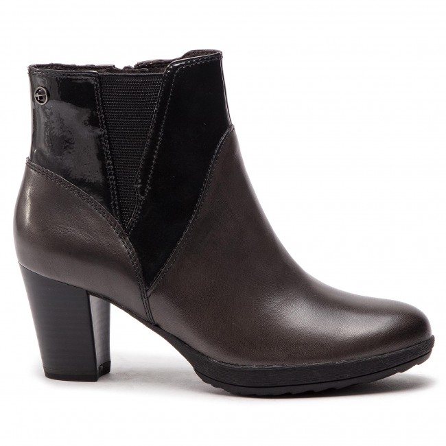 Magasított cipő TAMARIS - 1-25324-21 Anthracite Com 234 - Magasított ... 7737a61e79