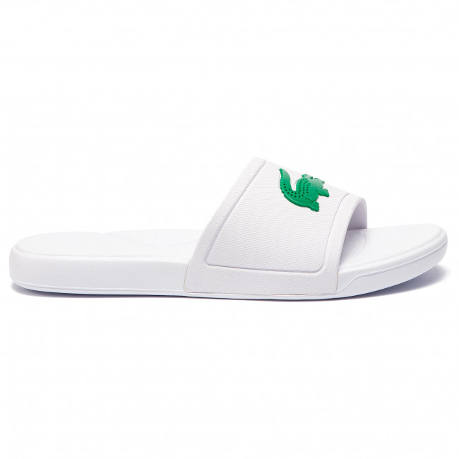 Papucs LACOSTE - L.30 Slide 119 2 Cuj 7-37CUJ0011082 White Green ... fca038fd8b