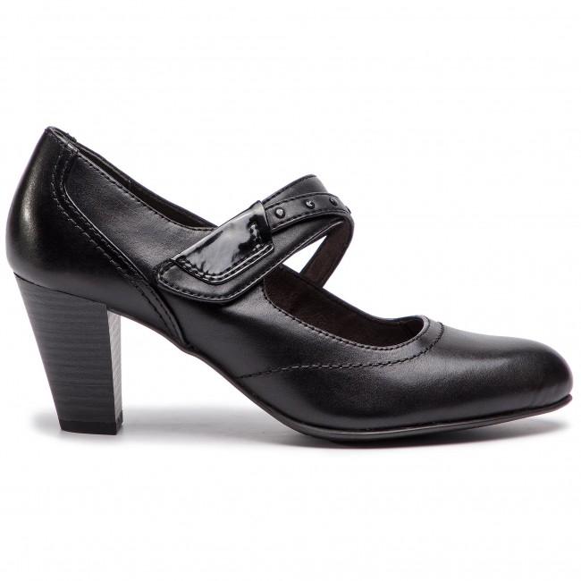 Félcipő JANA - 8-24302-21 Black 001 - Magas sarkú - Félcipő - Női ... 8b46610040