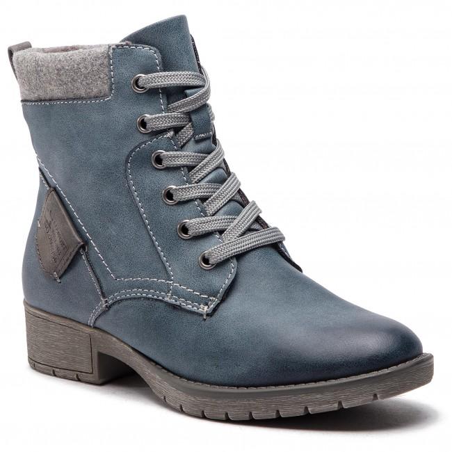 Magasított cipő JANA - 8-25262-21 Jeans 846 - Magasított cipők ... a2f75c76e1