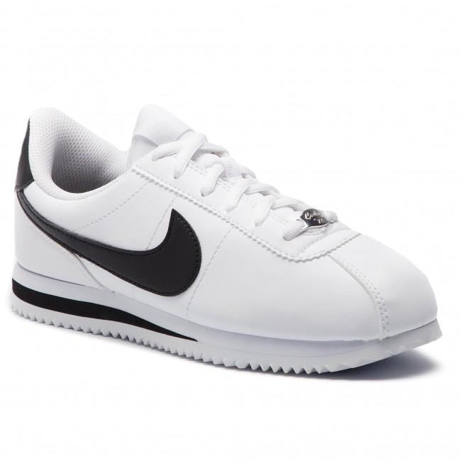 e9d8759bfc Cipő NIKE - Cortez Basic Sl (GS) 904764 102 White/Black - Sneakers ...