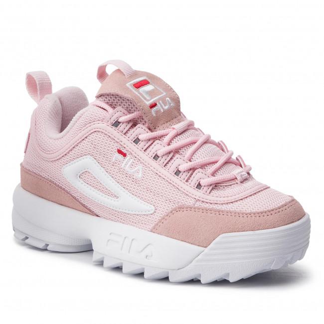 9ec075e0e964 Sportcipő FILA - Disruptor Mesh Low Wmn 1010606.71D Chalk Pink ...