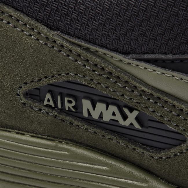 Cipő NIKE Air Max 90 Leather 302519 014 BlackMedium OliveSequoia