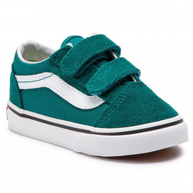 Teniszcipő VANS - Old Skool V VN0A344KVFE1 Quetzal Green True White ... c7657c1c25