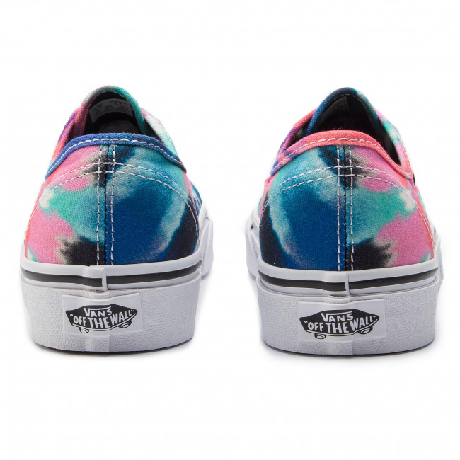 Teniszcipő VANS Authentic VN0A38EMVKI1 (Tie Dye) MultiTrue Whit