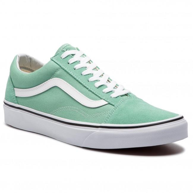 dcf85fb2ebd7 Teniszcipő VANS - Old Skool VN0A38G1VMX1 Neptune Green/True White ...