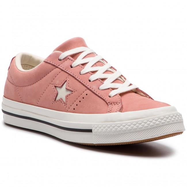 Teniszcipő CONVERSE - One Star Ox 161586C Rust Pink Egret Vintage ... b477c2c80c