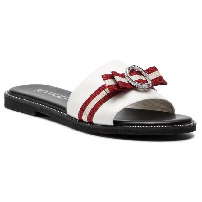 Papucs SCA VIOLA - B-113 White - Hétköznapi papucsok - Papucsok ... d993724d1f
