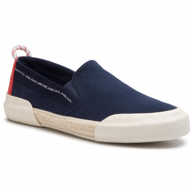 Espadrilles PEPE JEANS - Cruise Slip On Men PMS10277 Navy 595 ... dd0ee1919e