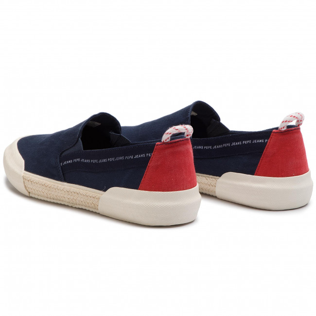Espadrilles PEPE JEANS - Cruise Slip On Men PMS10277 Navy 595 ... 5ccdfdf125