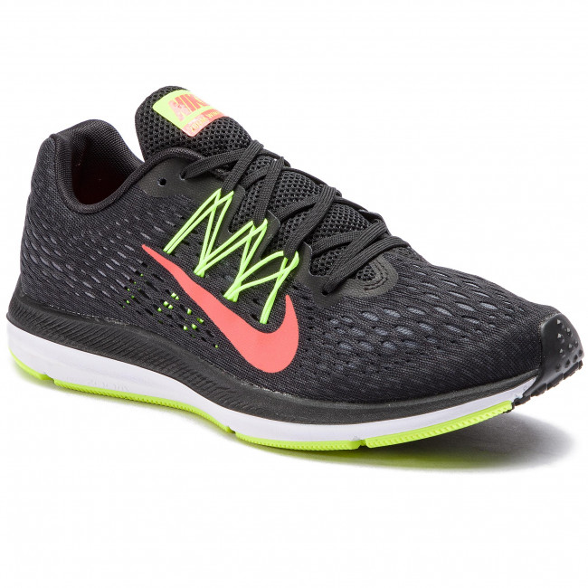Cipő NIKE - Zoom Winflo 5 AA7406 004 Black Bright Crimson Volt ... 0cd6113541