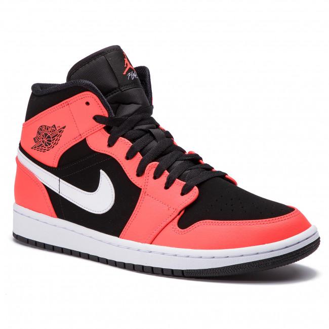 4fe50f56522d Cipő NIKE - Air Jordan 1 Mid 554724 061 Black/Infrared 23/White ...