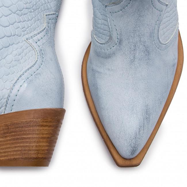 Magasított cipő R.POLAŃSKI - R.POLAŃSKI-0986 Błękit Przec. Crocco - Bokacsizmák - Csizmák és egyebek - Női L0TII