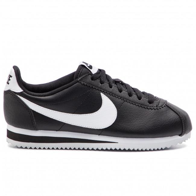 e4b30cee26 Cipő NIKE - Classic Cortez Leather 807471 016 Black/White/Black ...