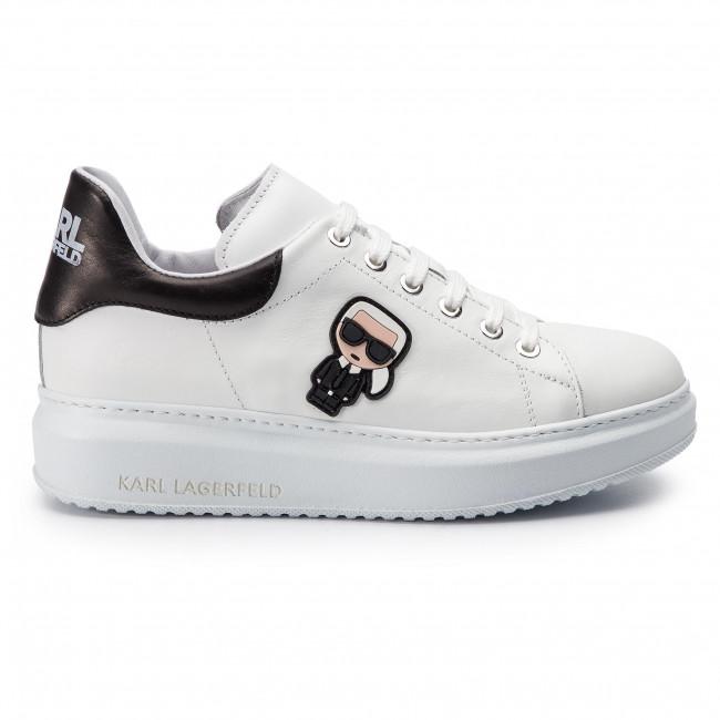 1fc59afab0 Sportcipő KARL LAGERFELD - KL42530 White Lthr - Sneakers - Félcipő ...