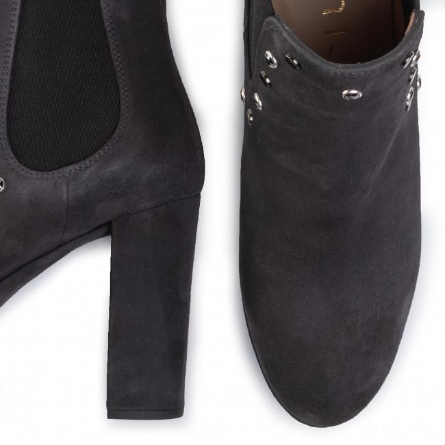 Magasított cipő UNISA - Regis Ks Tempest Kid Suede  - Bokacsizmák - Csizmák és egyebek - Női yOIJA