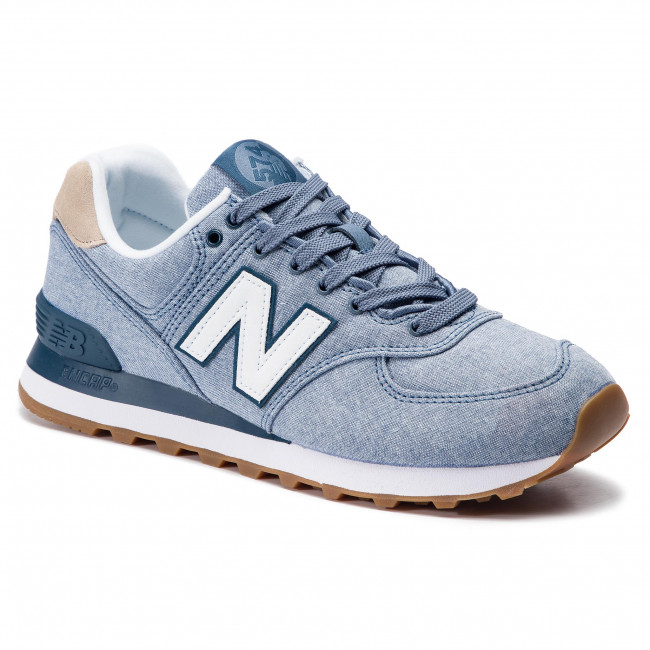 d41dc6660f Sportcipő NEW BALANCE - ML574STB Kék - Sneakers - Félcipő - Férfi ...